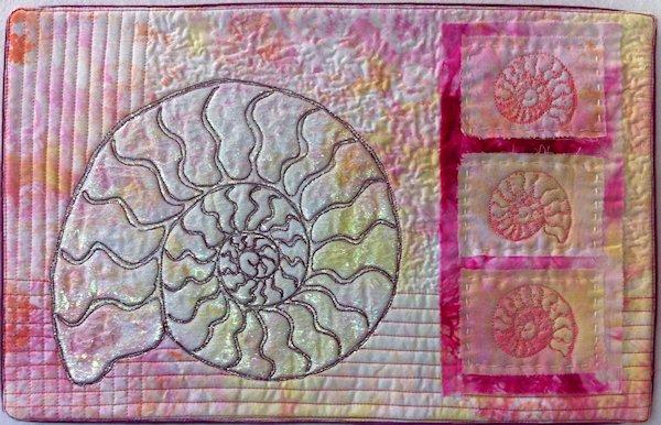 Art Quilt by Virtual Quilting Teacher Lyric Montgomery Kinard