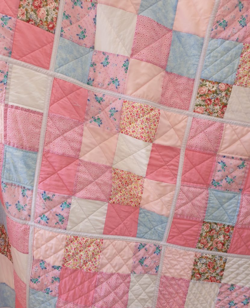 Quilt class taught at Loopy's Place, a values-driven business