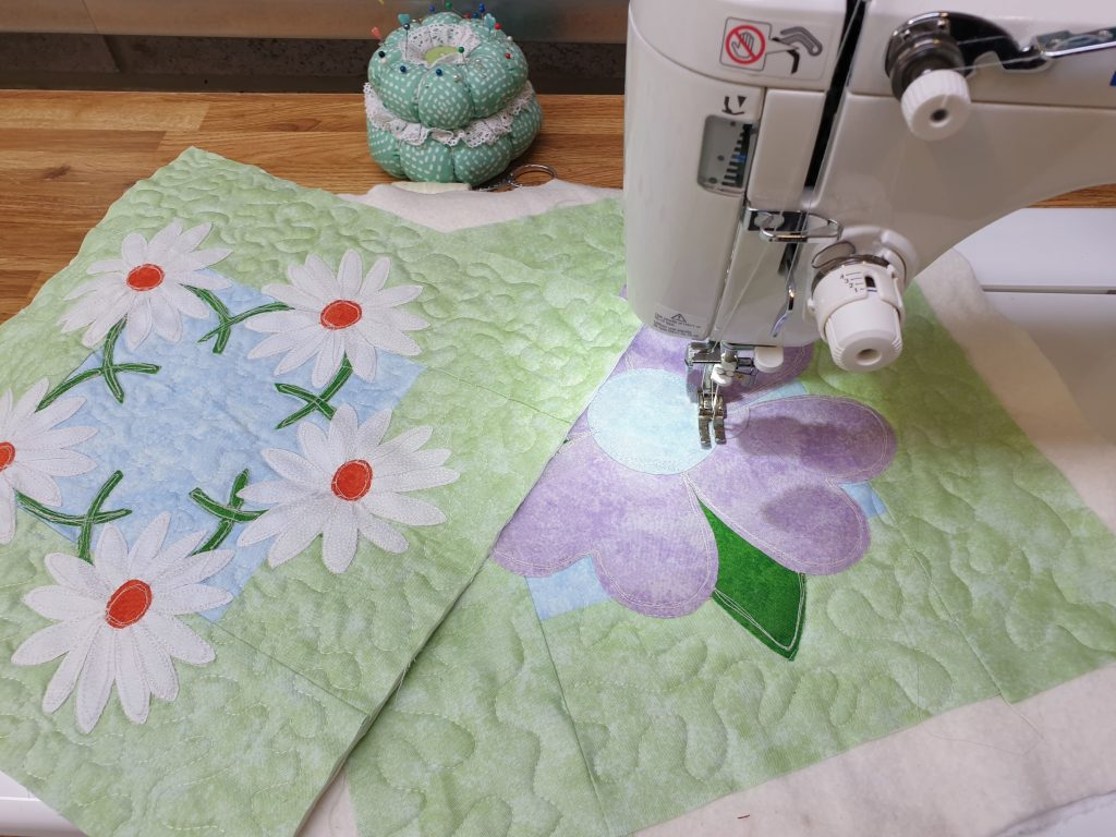 Free Applique Patterns from Jane Galley's values driven business, Loopy's Place
